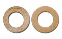 Leather Lock Washers (pair)