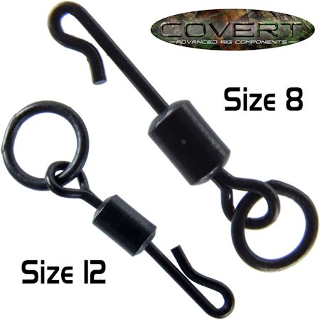 Thinking Anglers Carp Fishing Terminal PTFE Size 8 Quick Link Ring Swivels