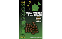 Oval Rubber Beads