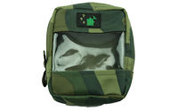 Camo Clear Front Zip Bag